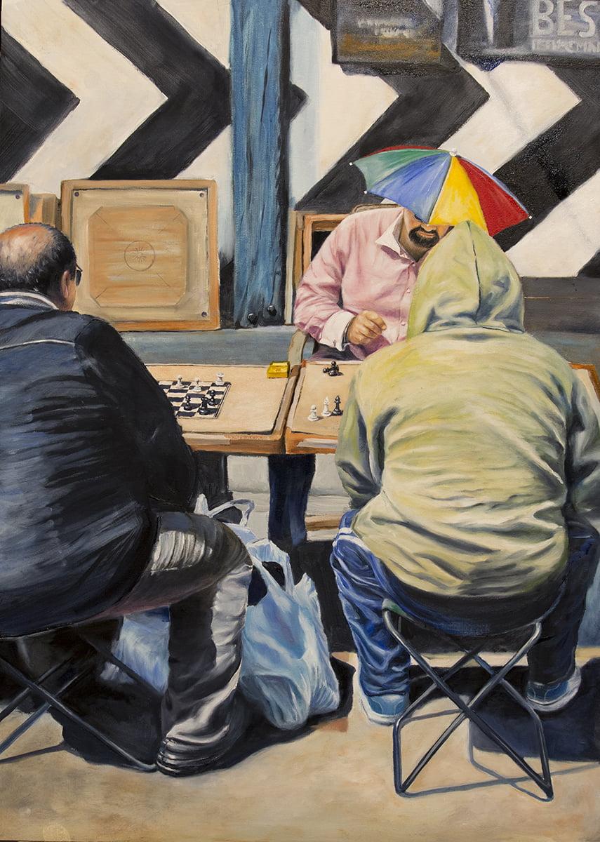 brick lane markets chess players