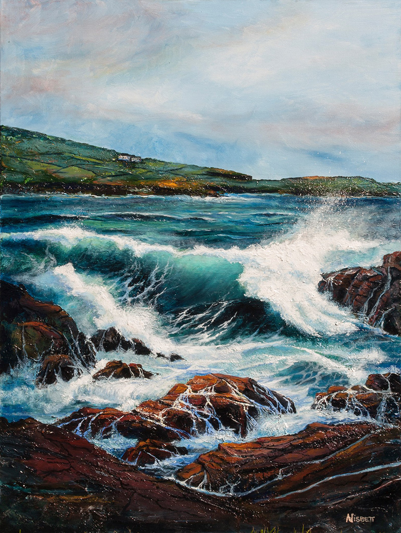 Dingwall Ireland seascape
